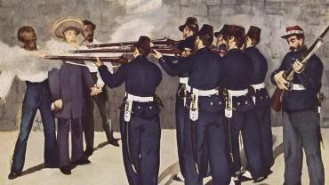 Emperor Maximilian executed